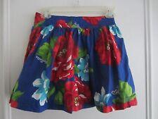 NEW Women's Hollister Multi Color Floral Print Mini Skirt Sz. S SMALL CUTE!!!