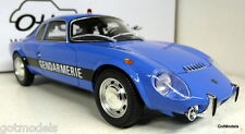 Otto 1/18 Scale Matra Djet 5 Gendarmerie French police Resin cast Model Car blue