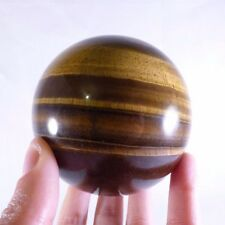 Large 'A' Grade South African Tiger's Eye Sphere *Video Preview* - 82mm, 777g