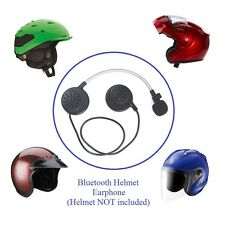 KOKKIA Helmet Bluetooth Earphones : Stereo Music, Voice. Say 'hello' for call.