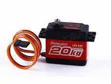 LF-20MG Power HD 4.8-6.6V 20KG HIGH TORQUE Digital Servo For 1/10 1/8 RC Car