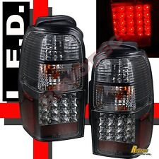 96-00 Toyota 4Runner SR5 Base Limited Black LED Tail Lights Lamps 1 Pair