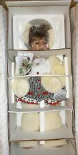 "NRFB MASTERPIECE DOLL CHERRY KISSES BY MONIKA LEVENIG 24"" DANBURY MINT"