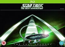 Star Trek The Next Generation Complete Series Seasons 1-7 Blu-ray Region Free