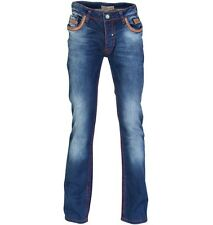BRAND NEW BRIGHT JEANS MODICA 623 TRUE RELIGION STYLE DENIM MEN NEW 34/34