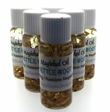 Nettle Root Herbal Magickal Anointing 10ml Oil Removes Negativity