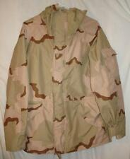 PARKA DESERT CAMOUFLAGE GORE-TEX COLD WEATHER MEDIUM-LONG USED $39.98