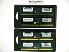16GB 4X4GB ECC667 DDR2 PC2-5300 Fully Buffered Server memory