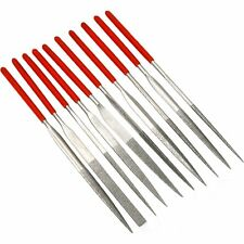 Assorted Diamond Coated Needle Files Hobby Watchmakers Jewelers Tools 10Pcs