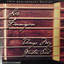 Les Finnigan - Things My Guitar Said (CD, 2007, String Plunker Records) 10th Ann