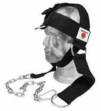 Senshi Japan Nylon Head Harness Immersione Cintura collo per il sollevamento pesi esercizio v2