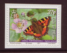 ISLE OF MAN 2011 BUTTERFLIES SELF ADHESIVE UNMOUNTED MINT, MNH