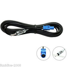 CONNECTS 2 CT27AA107 5M MALE DIN TO FAKRA MALE CAR EXTENSION AERIAL ADAPTER