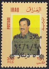 Irak Iraq 1994 ** Mi.1525 I Geburtstag Birthday Saddam, with ovpt.
