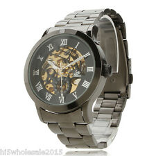 Men Luxury Automatic Mechanical Watch Sport Auto Self-winding Wrist Watch