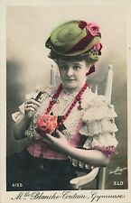 POSTCARD  ACTRESSES   Blanche  Toutain - Gymnase
