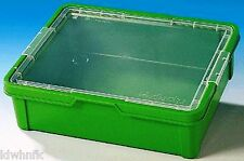 Lego Mindstorms Education Medium Green Box with clear lid