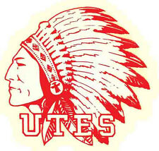 University of Utah   UTES    (College)  Vintage-Looking  Travel Decal Sticker
