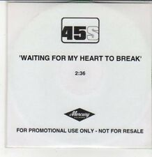 (DG325) 45s, Waiting For My Heart To Break - DJ CD