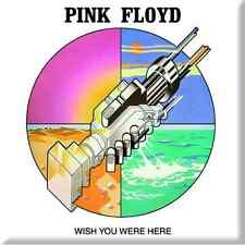 "PINK FLOYD Wish You Were Here fridge magnet 3"" square metal gift free UK P&P"