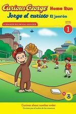 Jorge el curioso El jonron  Curious George Home Run (Reader) (Green Light Reader