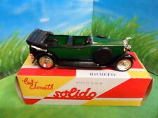 HACHETTE - CORGI SOLIDO - BNIB-HISPANO-SUIZA-TORPEDO (1925) FREE P&P