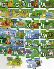 """26  Fruchtzwerge-Puzzle-Magnete """"Englisch lernen"""" kpl. Satz"""