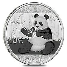 2017 Chinese Panda 30 Gram .999 Silver PRE-SALE Mint Sealed BU Bullion Coin