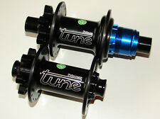 TUNE Hubs Set Princess Prince 32-hole Carbon Disc Hub Set X 12 QR 15 Sram XX1