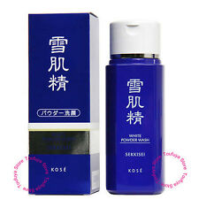 New KOSE SEKKISEI White Foaming Face Wash Powder Whitenining Moisture 100g