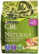 Purina Cat Chow  Naturals Plus Vitiamin & Minerals Cat Food, (50.4 OZ) 3.15LB