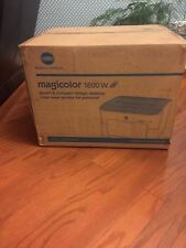 Brand New Konica Minolta Magicolor 1600W Wireless Color Laser Printer NIB Sealed