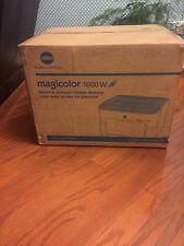 Brand New Konica Minolta Magicolor 1600W Wireless Color Laser Printer NIB Sealed