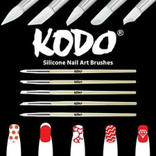 PRO KODO SILICONE NAIL ART 5 PIECE BRUSH SET PERFECT FOR SALONS/BEAUTICIANS