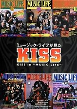 NEW KISS in MUSIC LIFE JAPAN MAGAZINE PHOTO BOOK Chronicle 1975~80 1st Edition