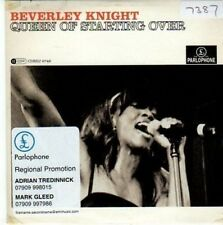 (BY259) Beverley Knight, Queen of Starting Over - 2007 DJ CD