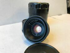 jupiter 12 2.8/35  for m39 fed,zorki,leica Biogon copy black Mint