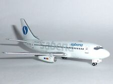 Boeing 737-200 Sabena Belgian World Airlines Model Scale 1:400 WTW4732006 G