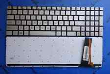 New silver US backlit keyboard fit ASUS N550 N550J N550JA N550JK N550JV N550LF