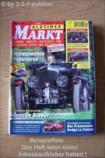 Oldtimer Markt 11/99 Bentley Blower Melkus RS 1000