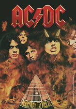 "AC/DC FLAGGE / FAHNE ""HIGHWAY TO HELL"" POSTER FLAG POSTERFLAGGE"