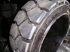 (2-Tires) 16x6x10-1/2 Advance solid forklift press-on tire 16x6x10.5 TR 16610