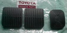 TOYOTA LAND CRUISER~~LANDCRUISER FJ40 CLUTCH*BRAKE*GAS--PEDAL PAD SET  1979-1984