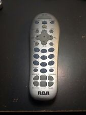 RCA SAT:CBL TV VCR:DVD 3 FUNCTIONS REMOTE CONTROL RCR311ST CODES INCLUDED