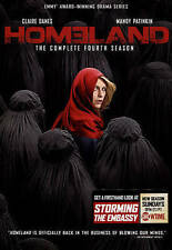 BRAND NEW SEALED HOMELAND COMPLETE SEASON 4 FOUR 4TH FOURTH (DVD) 4 DISCS