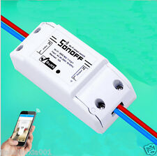 10A ITEAD Sonoff Smart Home WiFi Wireless Switch Module for Apple Android APP