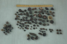 Fossil, Petrified, Mineral Collection from Arizona (Moqui Marbles?)