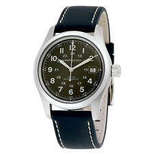 Hamilton Khaki Field Dark Green Dial Automatic Mens Watch H70455863