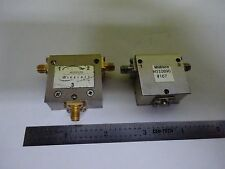 RF MICROWAVE FREQUENCY MODULES MIDISCO CIRCULATOR SMA CONNECTOR AS IS BIN#X7-19