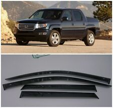 For Honda Ridgeline 2005-2014 Window Side Visors Sun Rain Guard Vent Deflectors